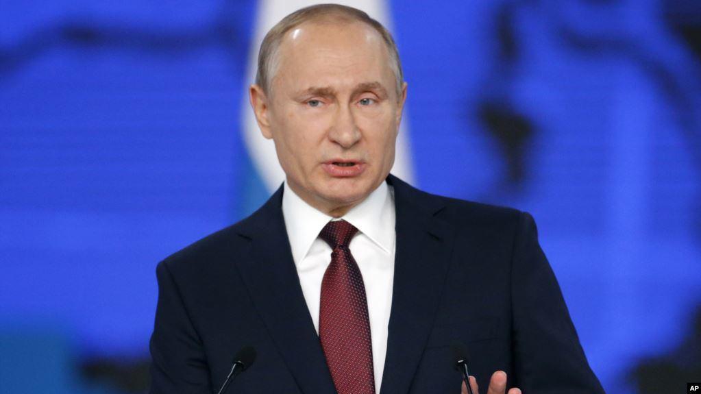 Владимир Путин чуть не умер во время прямой трансляции