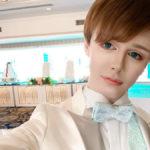Мэтт Куват сделал из себя куклу, чтобы участвовать в фэшен моде